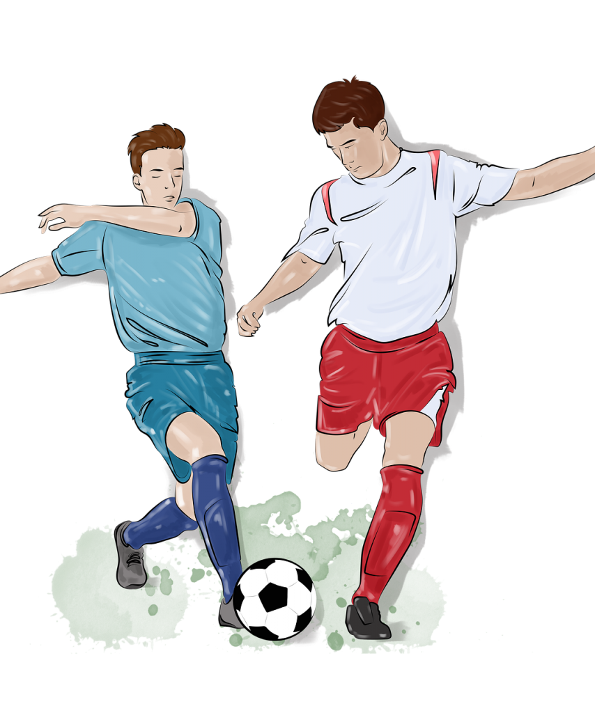 drawing, soccer, sports
